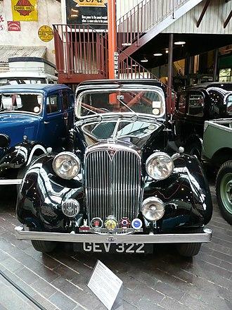 Rover (marque) - 1938 Rover 14