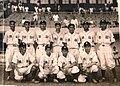 1951臺灣嘉義農林棒球隊在菲律賓馬尼拉黎剎球場合影 KANO Baseball Team of TAIWAN in Rizal Baseball Stadium, Manila, Philippines.jpg