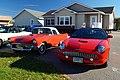 1957 & 2003 Ford Thunderbird (22083585805).jpg