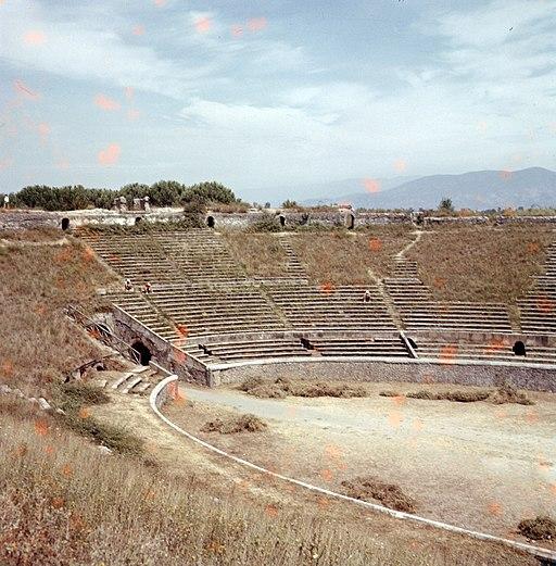 1958 Pompeii Amphitheatre Maurice Luyten