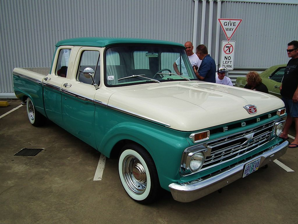 file 1966 ford f 250 crew cab pick up 6713276727 jpg wikimedia commons. Black Bedroom Furniture Sets. Home Design Ideas