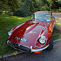 1972 Jaguar E-Type Series 3 Coupe at Capel Manor, Enfield, London, England.jpg