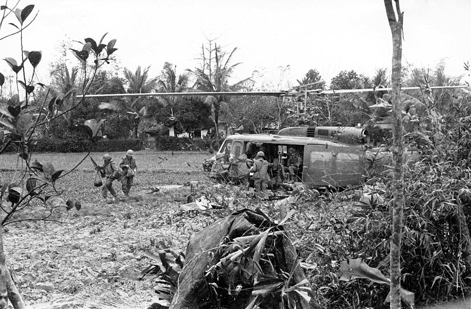 1st Cavalry Division helicopter resupply mission northwest of Hue