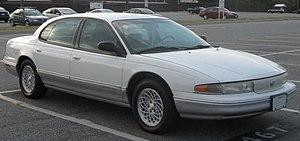 Chrysler LHS - Image: 1st Chrysler LHS