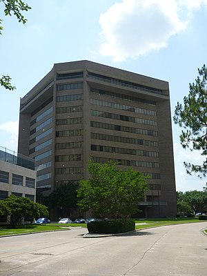 Minute Maid - 2000 St. James Place, the former Minute Maid headquarters, in Houston, Texas