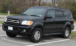 2001-2003 Toyota Sequoia Limited