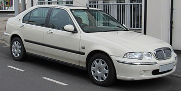 2001 Rover 45 IL 16V 1.6 Front.jpg