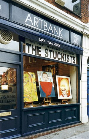 Remodernism - Image: 2001 The Stuckists show
