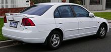 2002 Honda Civic (MY02) GLi sedan (2015-05-29) 02.jpg