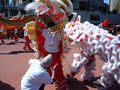 2008 Olympic Torch Relay in SF - Lion dance 53.JPG