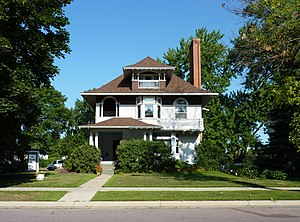 National Register of Historic Places listings in Le Sueur County, Minnesota - Image: 2009 0805 MN Carson H Cosgrove House
