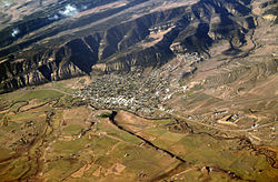 Aerial view of Meeker