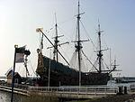20110417 Lelystad; Batavia Haven 09 ships at Batavia harbour.JPG