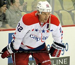 Mike Knuble v dresu Washington Capitals