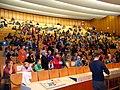 2012-11-13, x, KinderUniHannover Audimax Leibniz Universität Dr.-Ing. Mirko Schaper, Magnesium - der unglaublich vielseitige Werkstoff, Ende des Vortrages.jpg
