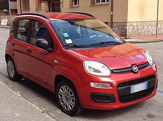 A-segment - Image: 2012 Fiat Panda III 1.2