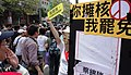 2013反核大遊行呼籲罷免擁核四立委蔡錦隆 Taiwanese Protest Calling for Recall some KMT Legislators.jpg