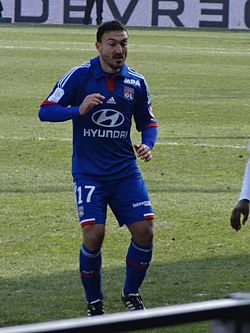 2013-03-03 Match Brest-OL - Steed Malbranque (8).JPG