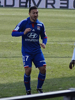 Steed Malbranque - Malbranque with Lyon in 2013