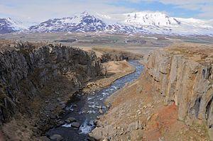 Eyjafjarðarsveit - Image: 2014 04 30 11 28 29 Iceland Akureyri Akureyri