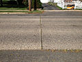 2014-08-29 15 33 15 View across Stuyvesant Avenue in Ewing, New Jersey, with concrete pavement likely dating to the 1950s.JPG