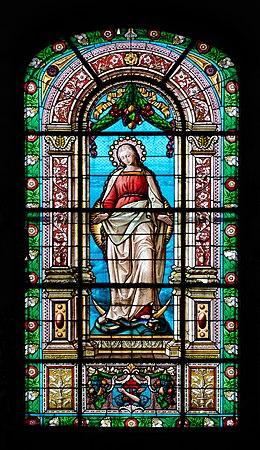 2014 Kłodzko, kościół Matki Bożej Różańcowej 32.JPG