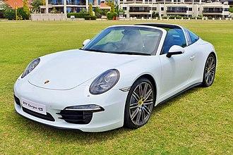 Porsche 991 - Porsche 911 Targa 4S