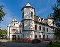 2014 Powiat raciborski, Krzyżanowice, Pałac 01.jpg