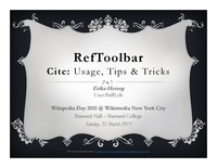 RefToolbar demo (lightning talk)