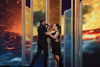 Czech Republic in the Eurovision Song Contest - Image: 20150516 ESC 2015 Marta Jandová & Václav Noid Bárta 8033