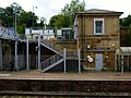 2015 London-Woolwich, Woolwich Dockyard railway station 19.JPG