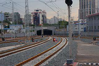 Beijing underground cross-city railway