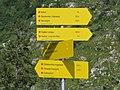 2017-07-22 (40) Fingerposts at Dürrenstein (Ybbstaler Alpen).jpg