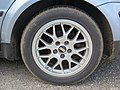 2017-09-07 (124) Dunlop Sport Maxx RT 205-55 R 16 91 Y tires at Park and Ride Bahnhof Ybbs an der Donau.jpg