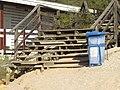 2017-12-05 Steps and litter bin, Praia da Oura, Albufeira.JPG