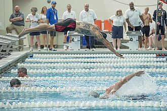 Warrior Games - Swimming at the 2017 games