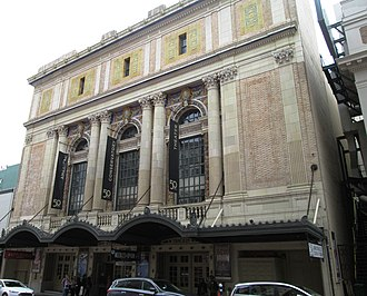 American Conservatory Theater - Image: 2017 ACT Geary Theater from west