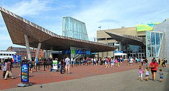 New England Aquarium - New England Aquarium plaza (2017)