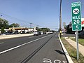 2018-05-25 15 29 11 View south along New Jersey State Route 36 at Essex Avenue along the border of Hazlet Township and Keansburg in Monmouth County, New Jersey.jpg