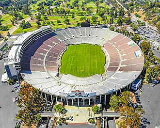 1994 FIFA World Cup Final - Rose Bowl stadium, the Final venue, photographed in 2018.