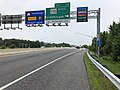 2019-06-05 16 21 52 View east along Interstate 195 (Metropolitan Boulevard) at Exit 1A (Maryland State Route 170 NORTH, Linthicum) in Stony Run, Anne Arundel County, Maryland.jpg