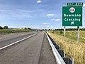 2019-06-06 16 46 42 View north along Interstate 81 at Exit 277 (Virginia State Route 614, Bowmans Crossing) in Bowmans Crossing, Shenandoah County, Virginia.jpg