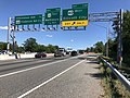 2019-06-14 15 52 46 View south along the Outer Loop of the Baltimore Beltway (Interstate 695) at Exit 15B (U.S. Route 40 WEST, Ellicott City) in Woodlawn, Baltimore County, Maryland.jpg