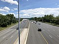 2019-07-18 13 52 51 View south along Interstate 695 (Baltimore Beltway) from the overpass for Westland Boulevard in Arbutus, Baltimore County, Maryland.jpg