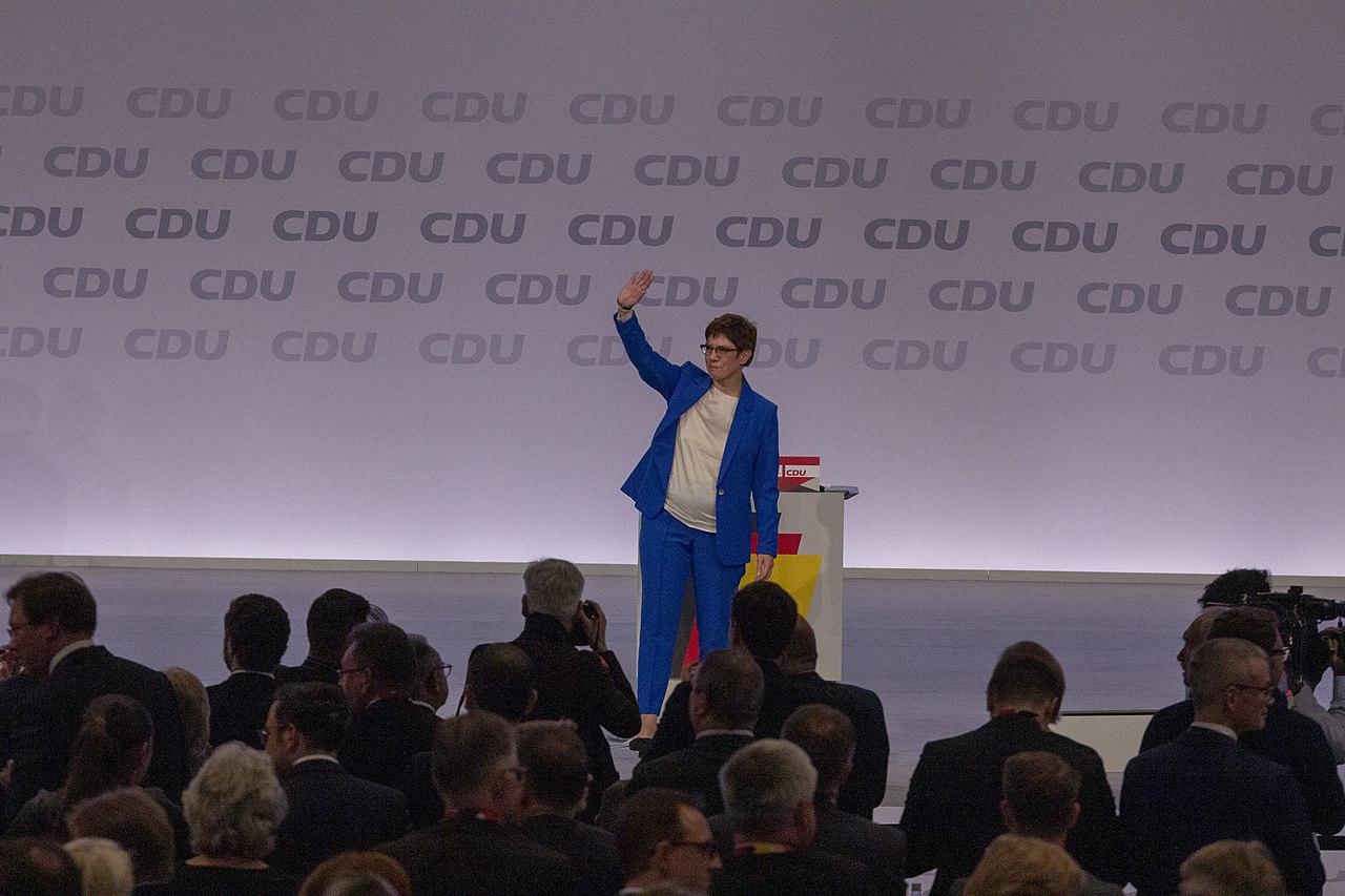2019-11-22 Annegret Kramp-Karrenbauer CDU Parteitag by OlafKosinsky MG 5500.jpg