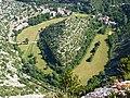 242 Gorges de la Vis Méandre recoupé de Navacelles 1.JPG