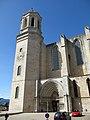 279 Catedral de Girona, campanar nou i porta dels Apòstols.JPG