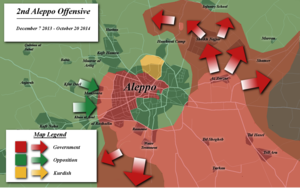 Operation Canopus Star - Map of the offensive