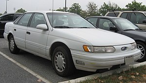 1990 Ford Taurus >> List Of Ford Taurus Models Wikipedia