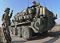 2nd Squadron, 2nd CR conducts a tactical road march during Operation Atlantic Resolve 150324-A-EM105-411.jpg